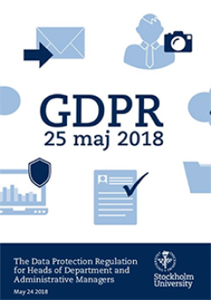 GDPR for Heads of Department and Administrative Managers