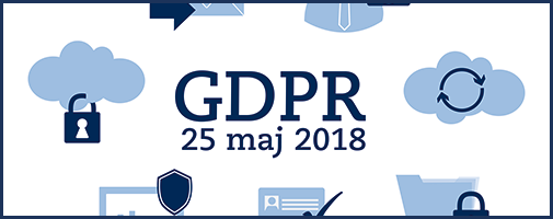 GDPR illustration gjord av Blomquists