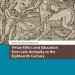 "Omslaget till I ""Virtue Ethics and Education from Late Antiquity to the Eighteenth Century"