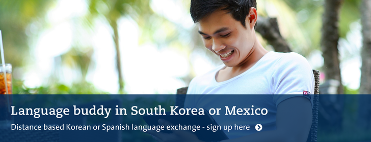 Language Buddy South Korea or Mexico
