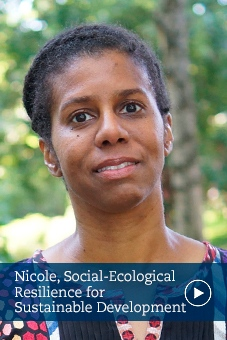 Nicole, Social-Ecological Resilience for Sustainable Development