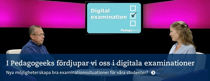 Pedagogeeks om digital examination