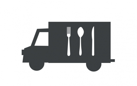 Illustration food truck
