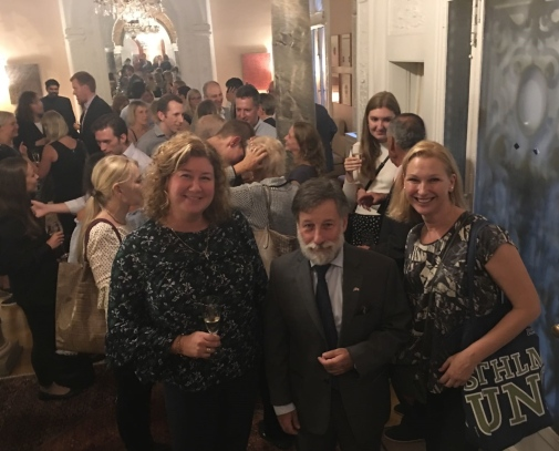 Sweden alumni meetup at the Consulate General of Sweden in New York, September 2018.
