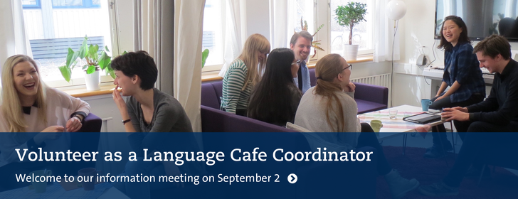 Volunteer as a Language Cafe Coordinator