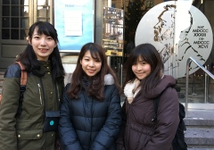 Three students from the University of Tokyo enjoyed visiting the Nobel Museum on Nobel Day.
