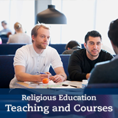 Religious Education Teaching and Courses