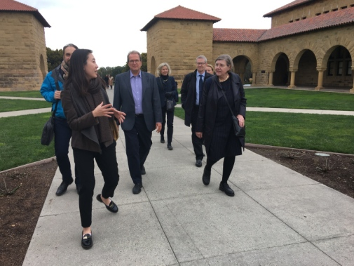 Visit to Stanford and Berkeley