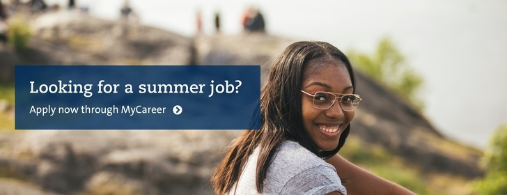 Summer jobb? Use Stockholm University's job portal. Photo: Niklas Björling