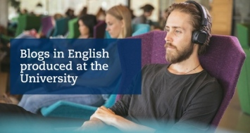Blogs in English produced at the University