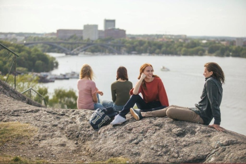 Students in Stockholm. Photo: Niklas Björling