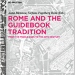 Omslaget av boken Rome and The Guidebook Tradition