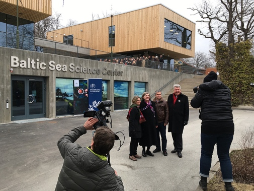 Förhandsvisning av Baltic Sea Science Center på Skansen