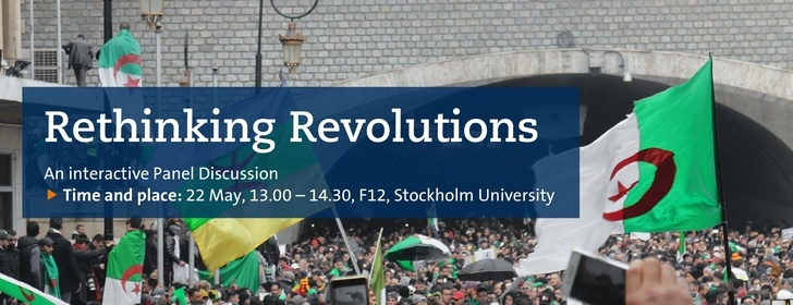 Rethinking Revolutions – An interactive Panel Discussion