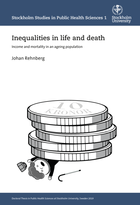 Johan REhnberg: Front page of his doctoral thesis