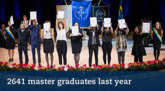 2641 master graduates 2018. Photo: Eva Dalin