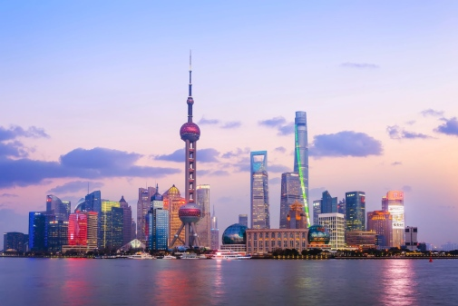 Shanghai skyline. Photo: Edward He/Unsplash
