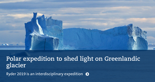 Polar expedition to shed light on Greenlandic glacier. Photo: Martin Jakobsson