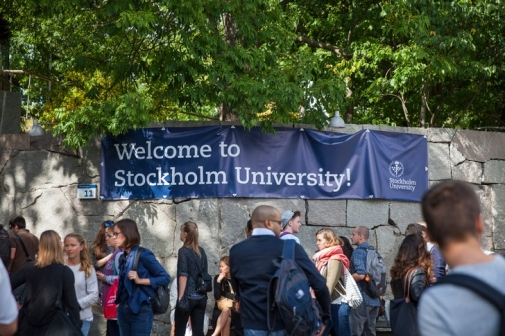 New students at Orientation Day, augusti 2015 by Niklas Björling