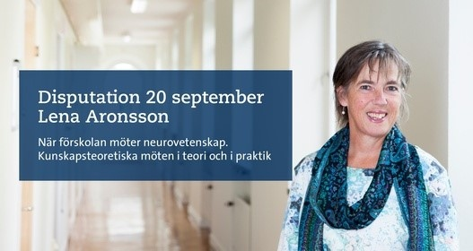Disputation Lena Aronsson