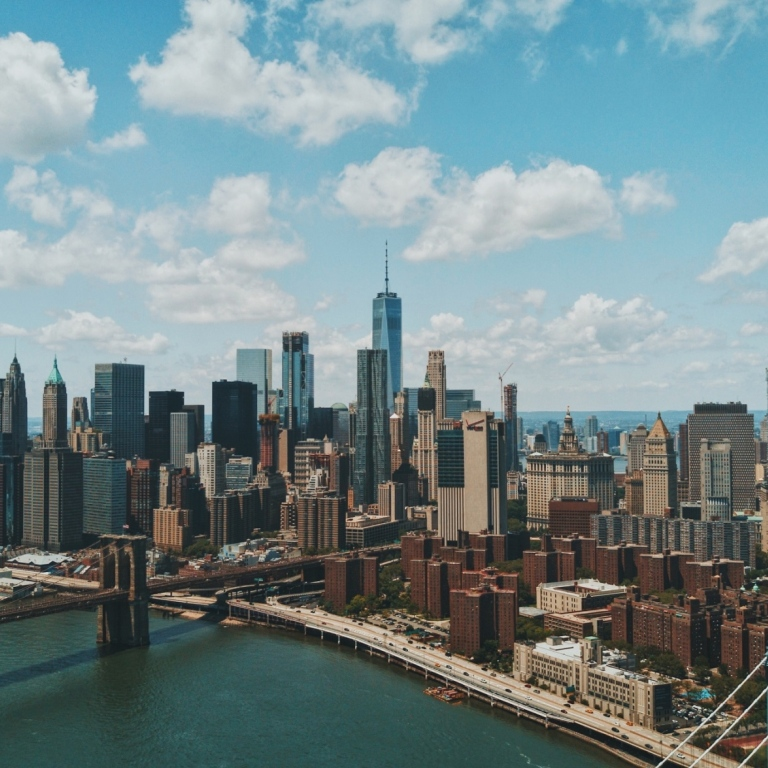 Aerial view of Manhattan Photo: Patrick Tomasso/Unsplash