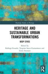 Omslaget till Heritage and Sustainable Urban Transformations.
