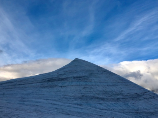 Southern peak of Kebnekaise, photo: Gunhild Rosqvist