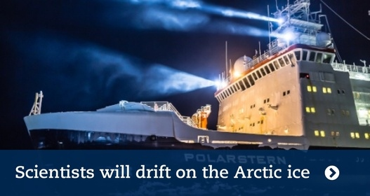 Scientists will drift on the Arctic ice for a year
