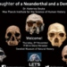 Detail of flyer The daughter of a Neanderthal and a Denisovan flyer