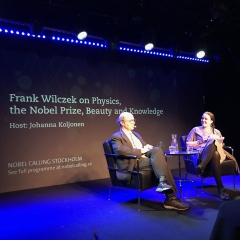 Frank Wilczek on physics, the Nobel Prize, beauty and knowledge