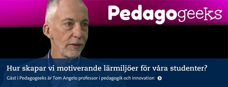 Pedagogeeks om studentmotivation