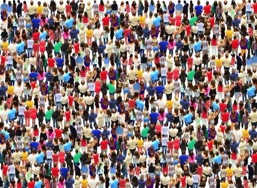 Folksamling. Foto: Alex Matvienko/Mostphotos