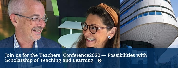 Join us at the Teachers' Conference 2020