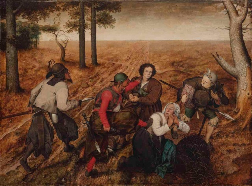 "Was ""The Assault"" painted in Bruegel"