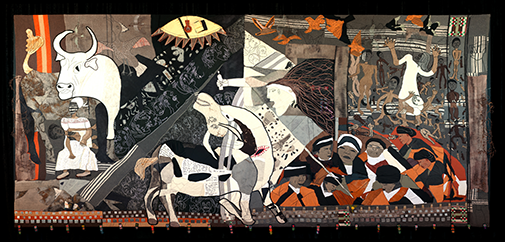 The Keiskamma Guernica, 2010, Mixed media, Hamburg, South Africa. Photo: Robert Hofmeyr
