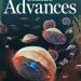 Science Advances cover (biohybrid jellyfish)