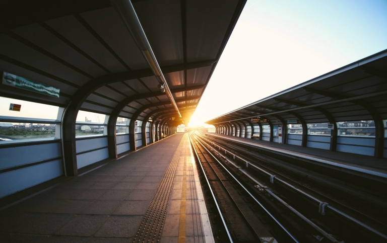 Train platform. Photo: Charles Forerunner/Unsplash