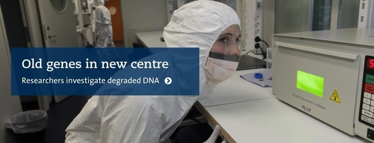 The Centre for Palaeogenetics. Photo: Jens Lasthein