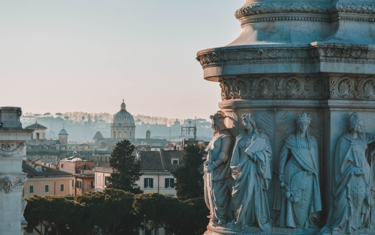 Rome cityscape. Photo: Carlos Ibanez/Unsplash
