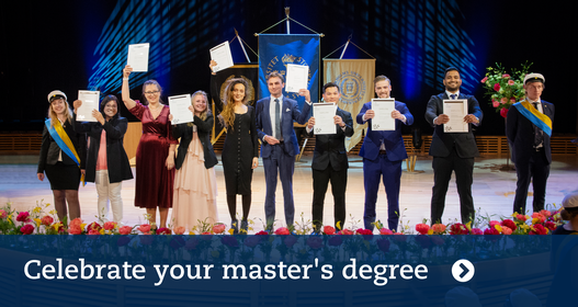 Master students. Photo: Ingmarie Andersson