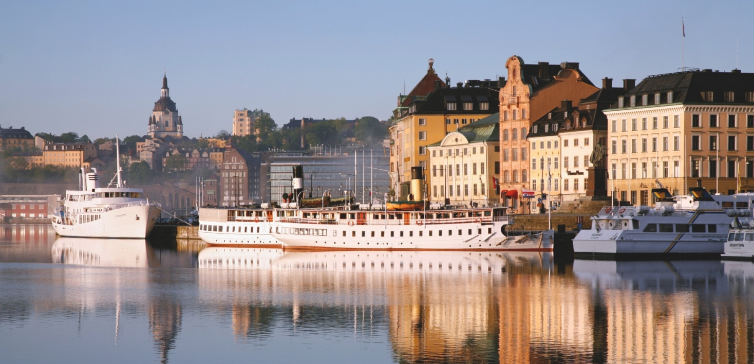View over Skeppsbron in central Stockholm. Photo: Ola Ericson/Imagebank Sweden