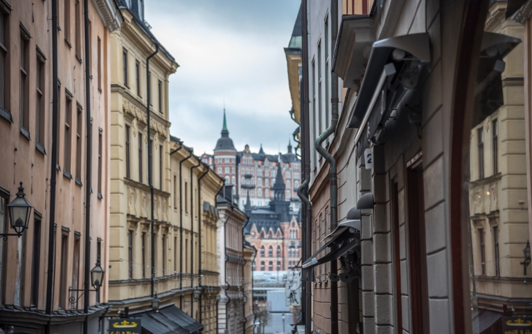 Buildings in Gamla Stan, Stockholm. Photo: Gunnar Ridderström/Unsplash