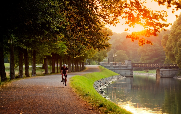 The Djurgården canal in central Stockholm. Photo: Verner Nystrand/Imagebank Sweden