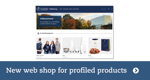 Information the new web shop for profiled products. Picture: profiled products
