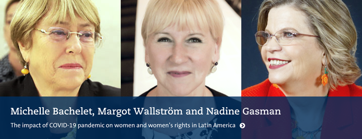 Webinar - Registration Required. Picture of three famous woman