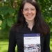Emelie Adamsson with her dissertation The Construction of Corporate Irresponsibility.