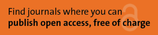 Search for journals to publish open access
