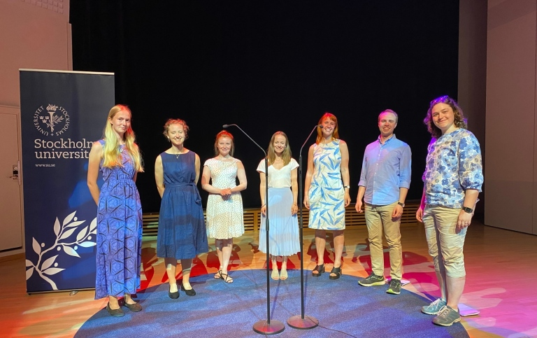 Summer concert by student choir Osqstämman. Photo: Erica Öjermark Strzelecka