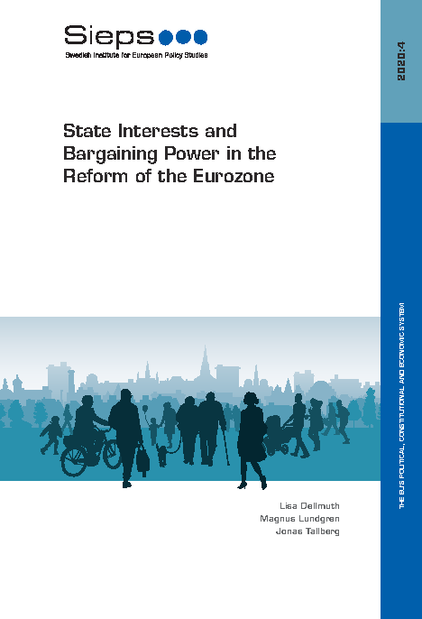 Bild på rapporten State Interests and Bargaining Power in the Reform of the Eurozone.