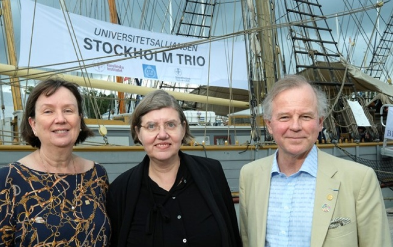 Sigbritt Karlsson, KTH, Astrid Söderbergh Widding, Stockholm University and Ole Petter Ottersen, KI